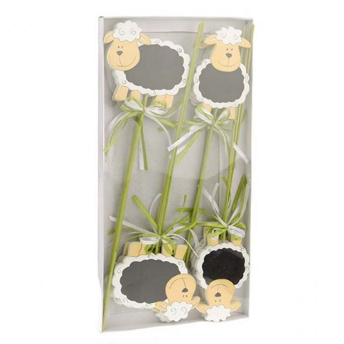 Spring Lamb Chalkboard Plant and Floristry Picks